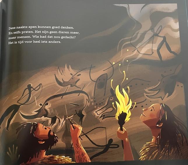 Volgens de schrijfster zijn mensen geen dieren. Credits: Sebastiaan van Doninck in 'Het hele soepzootje', uitgeverij Gottmer